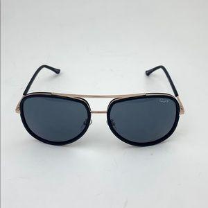 QUAY AUSTRALIANeeding Fame 65mm Aviator Sunglasses
